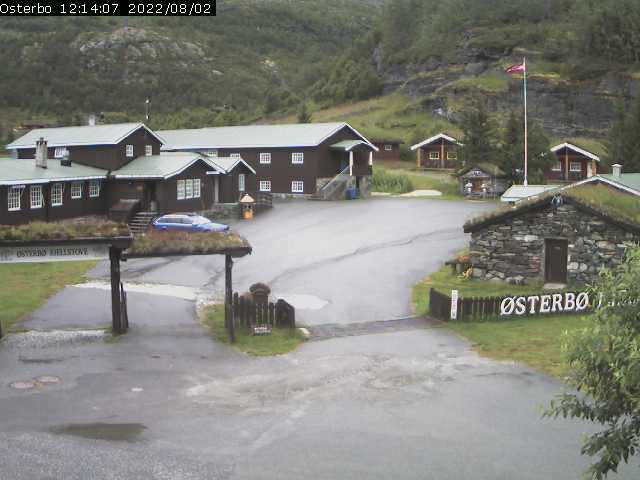Webcam Image from Østerbo Fjellstove